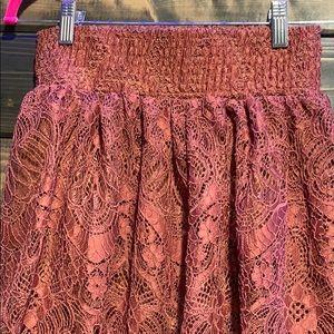 H&M Skirts - Lace maxi skirt